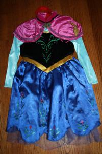 Anna Frozen Costume Child Size 3-4