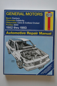 GM Buick Chevrolet Oldsmobile 1982-1993 Repair Manual Haynes