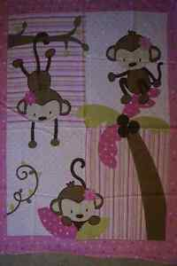 Monkey girl bedding and a ton of other stuff London Ontario image 3