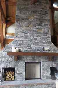 Real Granite Stone Veneer - Fireplaces or Exterior Clading