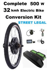 HIGH TORQUE GEARED Motorwheel complete conversion kit - NEW
