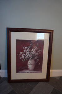 Nice picture for only $20.00 31 inches tall by 25.5 inches wide
