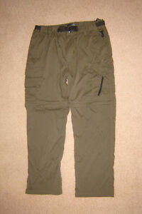 BC Clothing Zip-off Pants sz Lx30 / Banana Republic 34x30