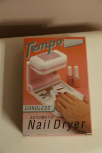 Vintage automatic nail dryer *NEW*