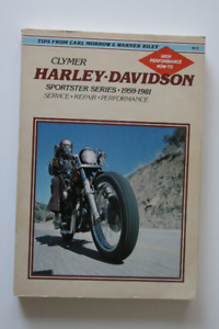 Harley Davidson Sportster Series 1959-1981 Service Manual Clymer