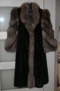 Manteau de fourrure pour femmes