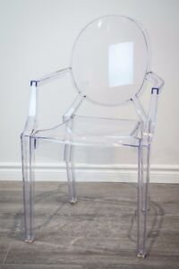 Clear Ghost Chairs for Rent