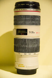 Canon 70-200mm F4 L IS USM lens