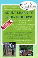 Adult Learn- to- Ride