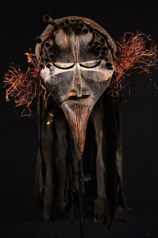12531 An Old African Dan Mask Liberia