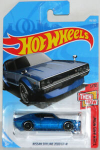 Hot Wheels 1/64 Nissan Skyline 2000 GT-R Diecast Car
