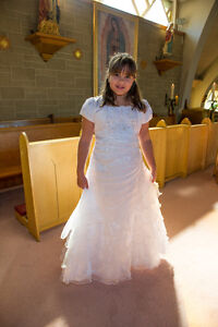 First Communion Dress with belero jacket West Island Greater Montréal image 1