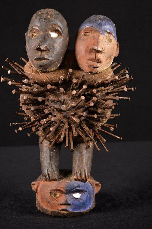 13986 A Rare Nkisi Statue DR Congo