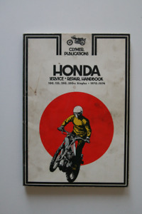 Honda Repair Handbook 100 125 250 350 Single 1970-1974 Clymer
