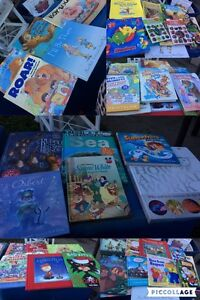 Lot of kids and lot of Cook books