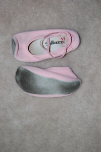 Gymnastic/Dance Slippers (Pink)