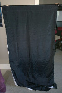 Black - Blackout - Thermal - Curtain Panel