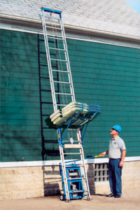 Roofing /shingle power ladder for rent