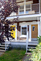 4 1/2 Furnished with 2 closed bdrm