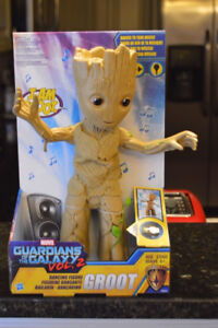 New Electronic Dancing I Am Groot Figure Marvel Guardians of the