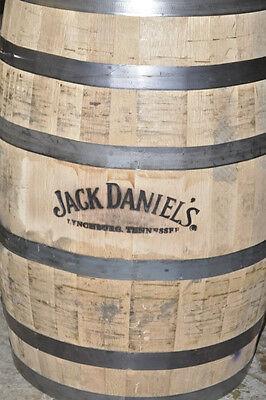 Whiskey Barrels White Oak Jack Daniels Full Size Authentic