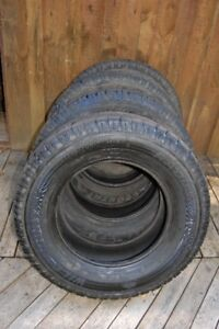 All terrain tires for light truck