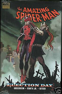 Marvel Spider Man Election Day Hardcover Hc New Sealed