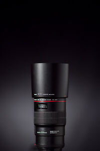 """Canon EF 100mm F/2,8L macro """"IS"""" USM comme neuf"""