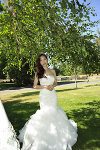 TWO BRAND NAME WEDDING DRESSES FOR SALE