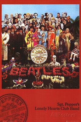 The Beatles - Sgt Pepper Poster Print 24x36 Rock & Pop Music