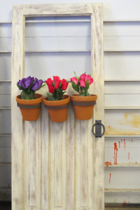 Wooden Door Planter