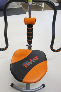 Abdominal Doer Twist Chair & video