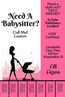 Looking For A Babysitter?