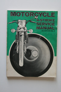 MOTORCYCLE 4-STROKE Service manual 1972 BSA Triumph Velocette