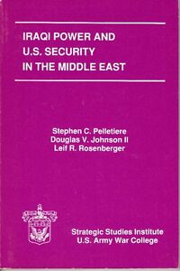 Iraqi Power and U.S. Security in the Middle East West Island Greater Montréal image 1