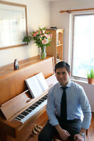 Expert Pianist for Weddings, Events, and Lessons!