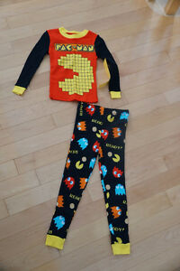 2 Pairs of Pac Man Pajamas, Size 3T - Brand New with Tags