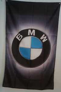 BMW Logo Luxury Cars Flag Banner Man Cave Garage 3x5 Feet