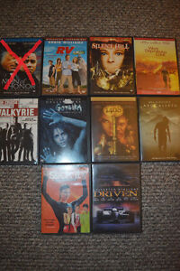 Selection of DVD & Blu-ray Movies