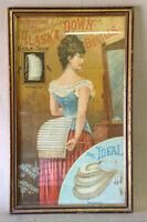 316: Vintage Bustle Ad Poster $65
