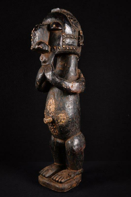 13414 African Large Baga Figure/Figure Guinea