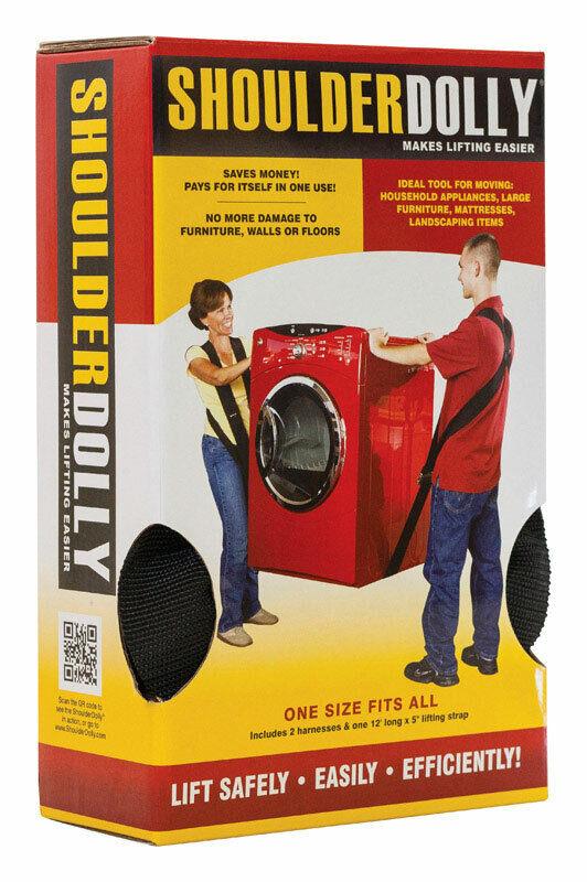ShoulderDolly  Makes Lifting Easier  Convertible  Lifting Strap  800 lb.