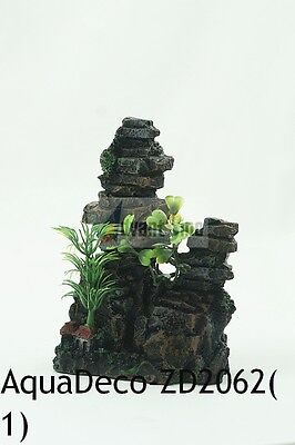 "Beautiful 5"" Tall Stacked Stones Resin Decoration/Ornament (SHIP FROM USA)"