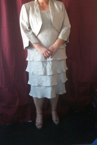 Mother of the bride dress size 22W