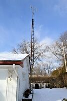 Antenna tower for TV (includes TV Antenna)- approx. 30-40 feet