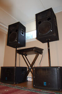PA System - Gig-Ready and Complete