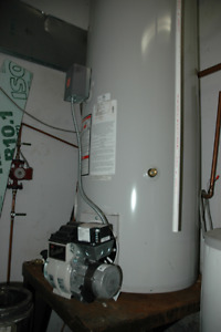 Hot Water Tank oil fired