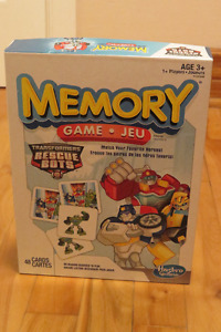 Jeu de mémoire Transformers Rescue Bots