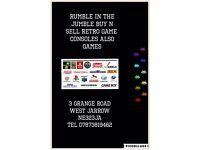 Rumble In The Jumble Buy N Sell Retro Games / Star Wars Etc