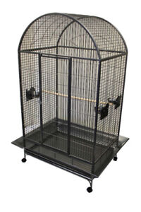 """40"""" X-Large Dome Top Parrot Cage for Macaw Cockatoo Grey Amazon"""